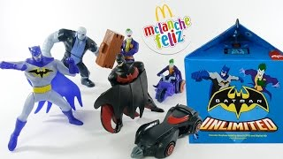 Download McLanche Feliz Março 2017: Batman Unlimited [Review] Coleção McDonald's brinquedo boneco desenho Video
