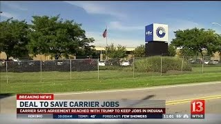 Download Trump announces agreement with Carrier to keep jobs in IN Video