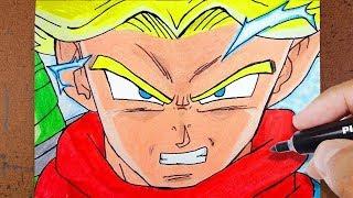 Download Como Desenhar Trunks do Futuro Super Saiyajin DRAGON BALL Video