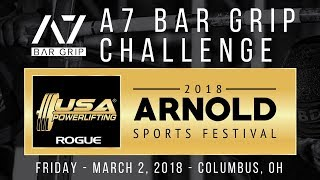 Download A7 Bar Grip Challenge at 2018 Arnold Sports Festival Video