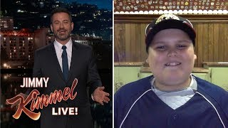 Download Jimmy Kimmel Interviews Big Al 'Dinger' Kid from Little League World Series Video