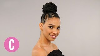 Download This Braided Bun Will Make You Want To Step Up Your Hair Game | The Braid Up | Cosmopolitan Video