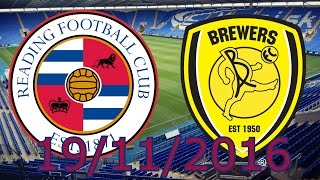 Download Following The Royals: Reading Vs Burton Albion Video