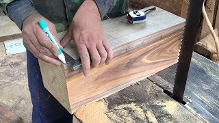 Download Amazing Skills Woodworking Extremely High Technical To Create Masterpiece Hand-Crafted, How To, DIY Video
