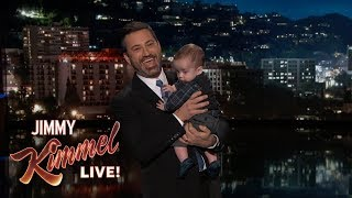 Download Jimmy Kimmel Returns with Baby Billy After Heart Surgery Video