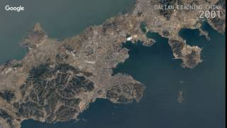 Download Google Timelapse: Dalian, Liaoning, China Video