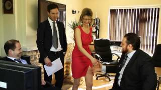 Download Woman farts in new job Video