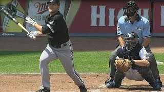 Download CWS@MIL: Buehrle knocks his first Major League homer Video