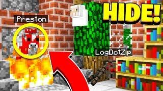 Download BEST HIDER EVER! - Morph Mod Hide & Seek - Minecraft Mods Video