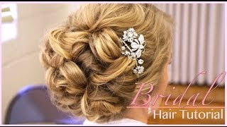 Download Classic Bridal Updo: Hair Style Tutorial Video