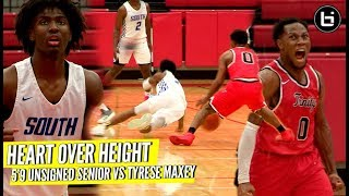Download HEART OVER HEIGHT! 5'9″ Unsigned Senior VS Tyrese Maxey Kentucky Next PG Video
