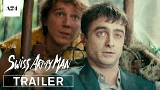 Download Swiss Army Man   Official Trailer HD   A24 Video