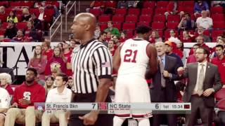 Download 2016.11.13 St Francis Terriers at NC State Wolfpack Basketball Video