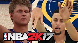 Download Can Steve Kerr Hit 100 Three Pointers Before Steph Curry Can? NBA 2K17 Challenge Video