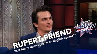 Download 'Homeland' Star Rupert Friend Shows Off His Thick English Accent Video