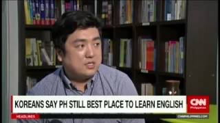 Download Koreans say Philippines still the best place to learn English Video