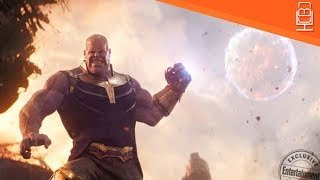 Download FIRST LOOK at Thanos Throwing a MOON at The Avengers Video