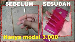 Download Cara Merubah Warna Silicon/Jelly case HP Murah Hanya 3.000 Trendy dan keren Video
