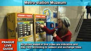 Download How to purchase ticket for metro, tram and bus in Prague, transport video guide part 2 Video