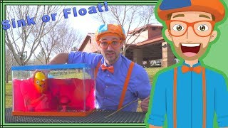 Download Sink or Float with Blippi | Fun Science Videos for Kids Video
