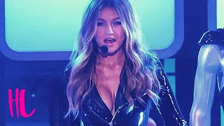 Download Gigi Hadid Insane Cleavage In Lip Sync Battle VS Tyler Posey Video