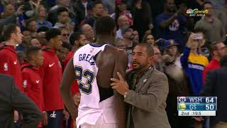 Download Draymond Green and Bradley Beal Get Ejected For Fighting During Warriors vs. Wizards Video