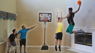 Download CRAZY HOUSE 2 V 2 MINI NBA BASKETBALL! Video