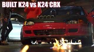 Download Built K24 Coupe Gives K24 CRX 1 + Go! Video