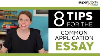 Download CRUSH the Common Application Essay! 8 Tips. Video