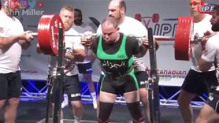 Download Fatah Toubal - 775kg 4th Place 83kg - IPF World Classic Powerlifting Championships 2018 Video