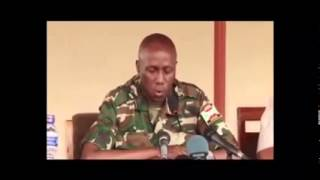 Download Ijambo rya ministre w'ingabo z'Uburundi, gén Gaciyubwenge Video