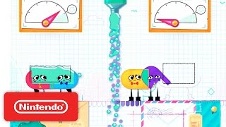 Download Snipperclips - Cut it out, together! Launch Trailer Video