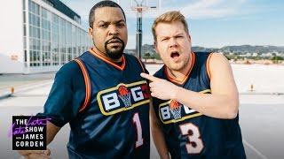 Download James Corden Dominates Ice Cube on the Basketball Court Video