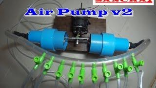 Download DIY - How to Make a Air Pump v2 ปั๊มออกซิเจน Video