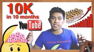 Download How to Get 10k Youtube Subscribers in Under 10 Months | 10 Powerful Tips Video