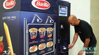 Download Bicom Vending Machines for ready meal - Demo video at Barilla Food Service Video