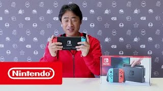 Download Nintendo Switch - Unboxing with Mr Shibata Video