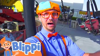 Download Blippi at an Amusement Park | Learning Colors at the Carnival Video