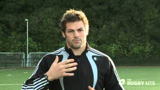 Download Richie McCaw - Set Piece Running Lines (behind the gain line) Video