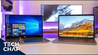 Download Macbook Pro 15 (2018) vs Dell XPS 15 (9570) - Best Laptop? | The Tech Chap Video