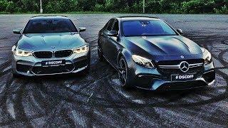 Download BMW M5 F90 vs. Mercedes-AMG E63s. Спецвыпуск Video