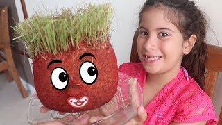 Download Boneco Ecológico - Cabeça de Trolls com Maria Clara e JP Video