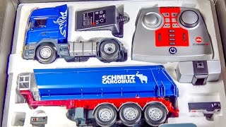 Download RC truck SCANIA gets unboxed, loaded & DIRTY for the first time! Video