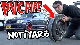 Download $300 drift car! PVC pipe drifting kei cars Video