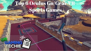 Download Top 6 Oculus Go/Gear VR Sports Games - 2018 Edition Video