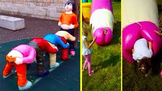 Download Hilariously Inappropriate Playground Design Fails That Are Hard To Believe Were Approved Video