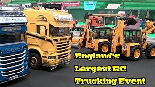 Download RC TRUCKS - UK RC TRUCKERS NATIONAL GATHERING - ENGLANDS LARGEST RC EVENT part 3 Video