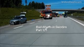 Download Bad Drivers in Sweden #121 Roundabouts, hoggers and tailgaters Video