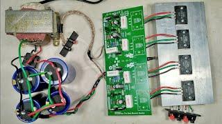 Download Cara merakit power amplifier dengan kit driver sanken 400 watt stereo Video