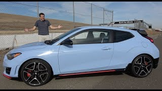 Download The 2019 Hyundai Veloster N Is a Thrilling Hot Hatchback Video